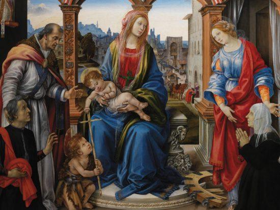 Filippino Lippi Pala Nerli 1485-1488
