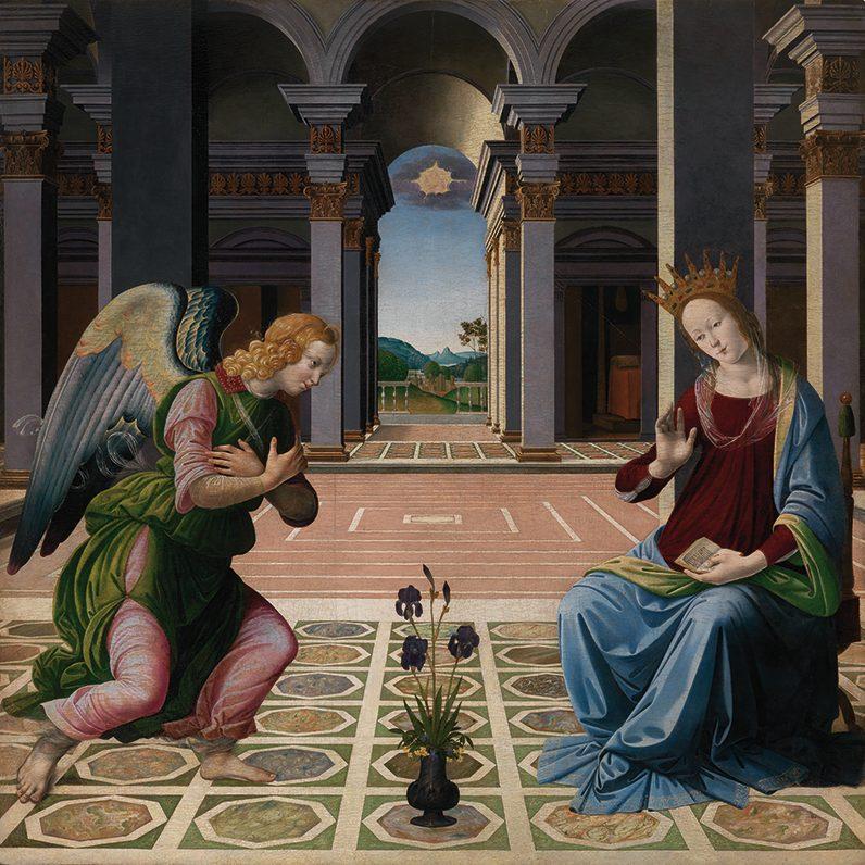 Pietro del Donzallo, Annunciazione